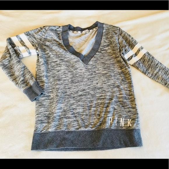 PINK Victoria Secret V,Neck Sweatshirt